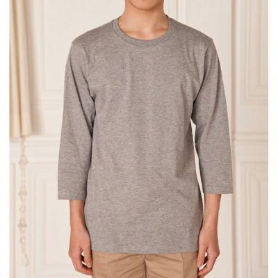 七分丈でラフでナチュラルなスタイルに!七分丈Tシャツ