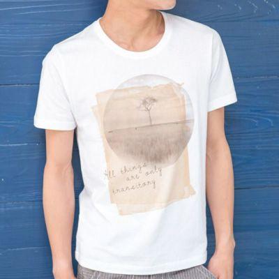 プリントTシャツ(ホワイト)▽