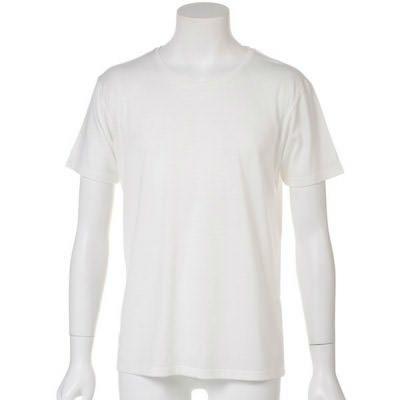 ホワイトよりもあったかみのあるオフホワイトTシャツ(オフホワイト)