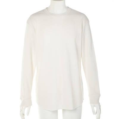 長袖クルーネックTシャツ(オフホワイト)