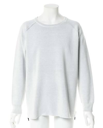 WフェイスニットTシャツ(ホワイト)