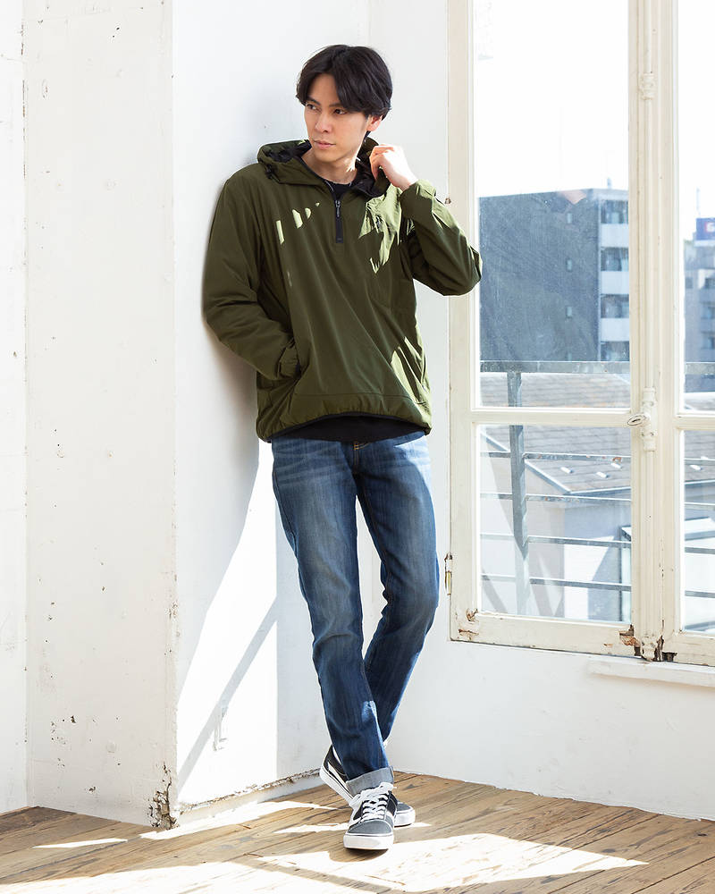 パーカー×長袖Tシャツ×パンツ(3点セット)