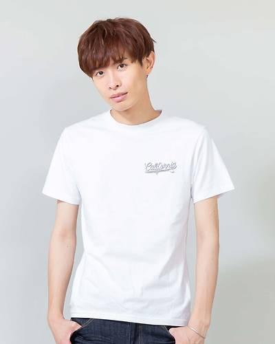 レトロサーフプリントTシャツ(ホワイト)