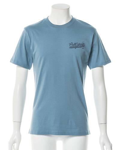 レトロサーフプリントTシャツ(サックス)
