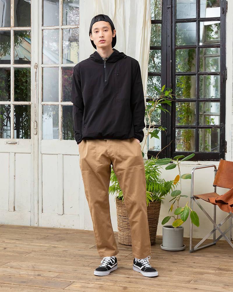 【マネキン買い】パーカー×長袖シャツ×半袖Tシャツ×パンツ(4点セット)