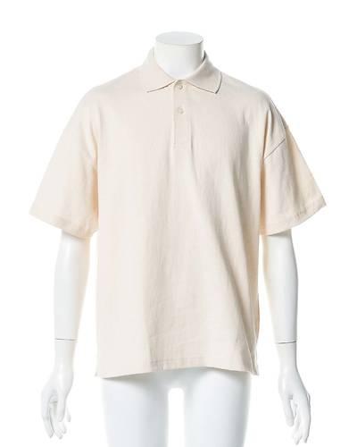 ワイドフィットポロシャツ(ナチュラル)
