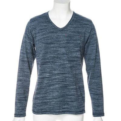 段染め長袖Tシャツ(ネイビー)