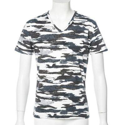 迷彩Tシャツ(ブラック)