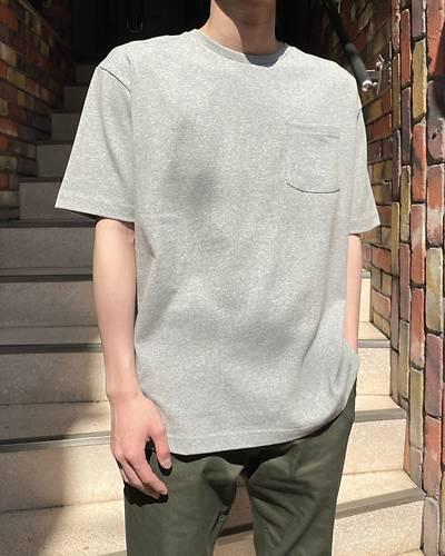USAコットン半袖Tシャツ(グレー)
