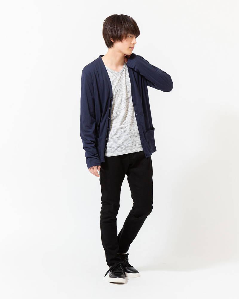 「西村匠」カーディン×長袖Tシャツ×パンツ