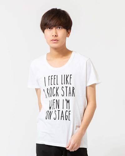 ロゴ半袖Tシャツ(ホワイト)