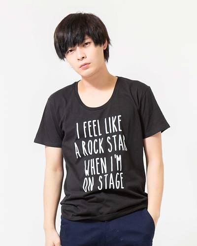 ロゴ半袖Tシャツ(ブラック)