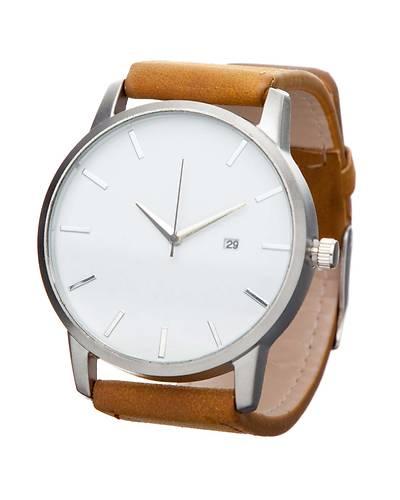 メンズクォーツ時計腕時計ZYF066-1(ブラウン)
