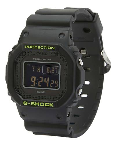 カシオG-SHOCK海外モデル電波ソーラー腕時計GW-B5600DC-1(ブラック)