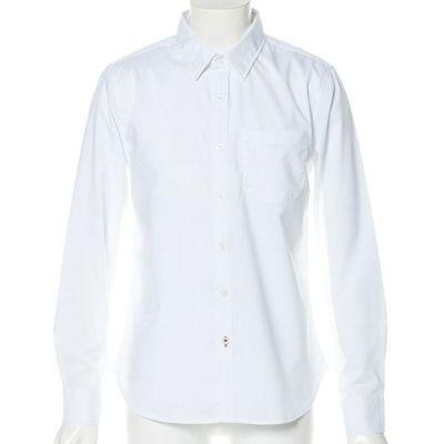 ブロードストレッチ長袖シャツ(ホワイト)