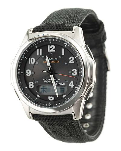 CASIOウェーブセプター世界6局電波対応ソーラー腕時計WVA-M630B-1AJF(ブラック)
