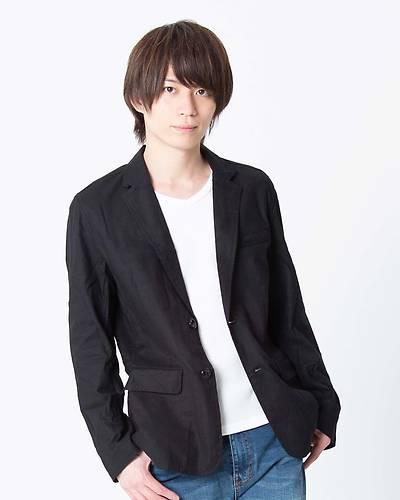 綿麻ストレッチ長袖テーラードジャケット(ブラック)