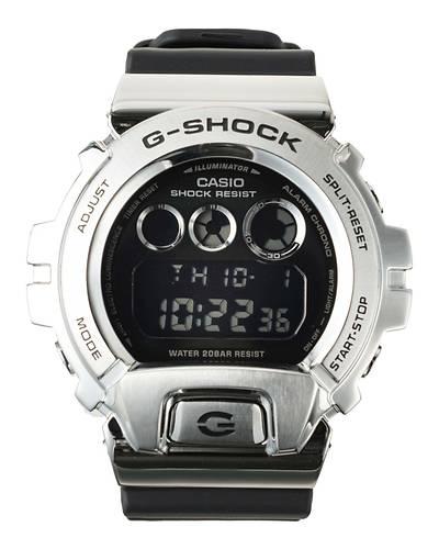 カシオG-SHOCK海外モデル メタルカバーGM-6900-1(ブラック)