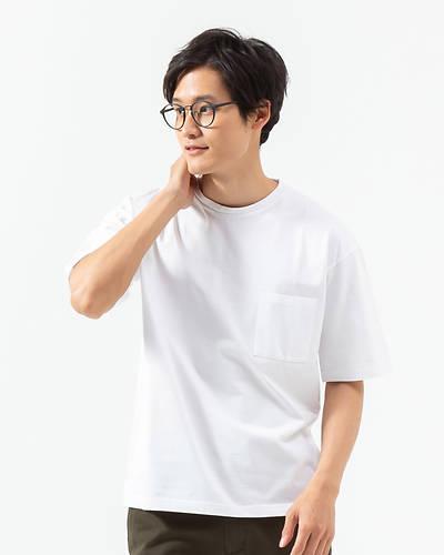 天笠ルーズ半袖Tシャツ(ホワイト)