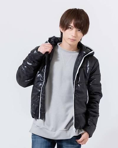 中綿シレージップジャケット(ブラック)