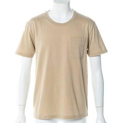 国産半袖Tシャツ(ベージュ)