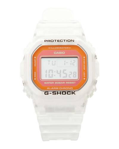 【CASIO (カシオ)】G-SHOCK海外モデル 「Color Skeleton Series」DW-5600LS-7(クリアオレンジ)