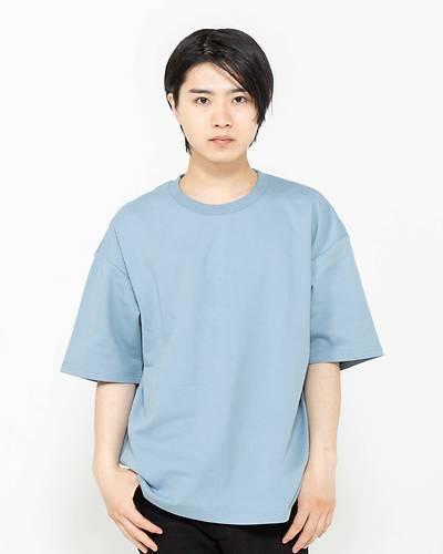 ビックリブTシャツ(ブルー)