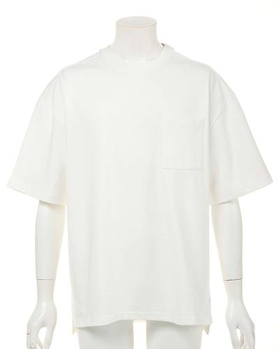 OE天竺五分袖Tシャツ(ホワイト)