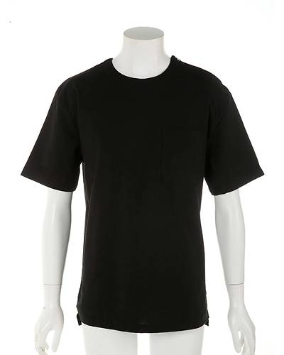 プルオーバーTシャツ(ブラック)