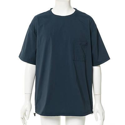 ナイロン半袖Tシャツ(ブルーグリーン)