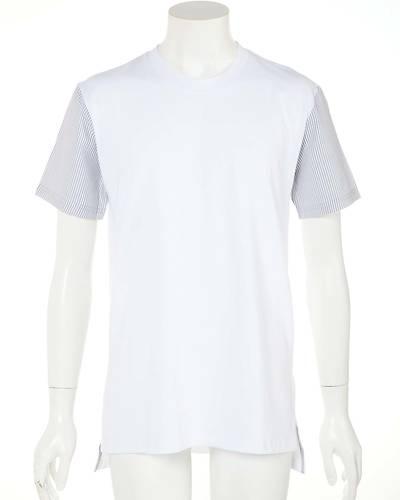 半袖切替Tシャツ(ホワイト)