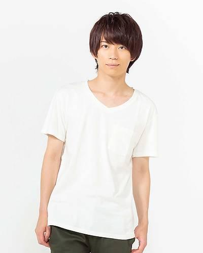 USAコットン半袖無地Tシャツ(ホワイト)